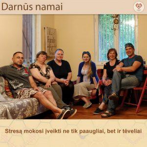 Streso valdymo dienos stovykla tėvams