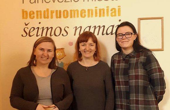 Nauja bendrystė su Panevėžio bendruomeniniais šeimos namais
