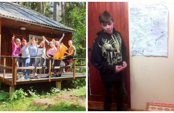 Pasirengimo savarankiškam gyvenimui savaitgalio stovykla globojamiems paaugliams