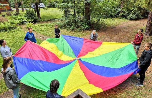 Streso valdymo savaitgalio stovykla paaugliams