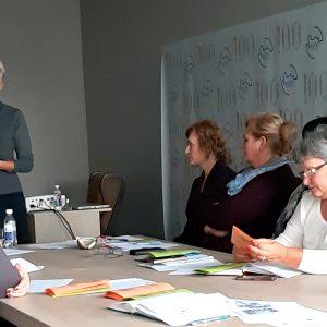 Susitikimas su Kauno rajono savivaldybės seniūnijų socialinio darbo organizatoriais