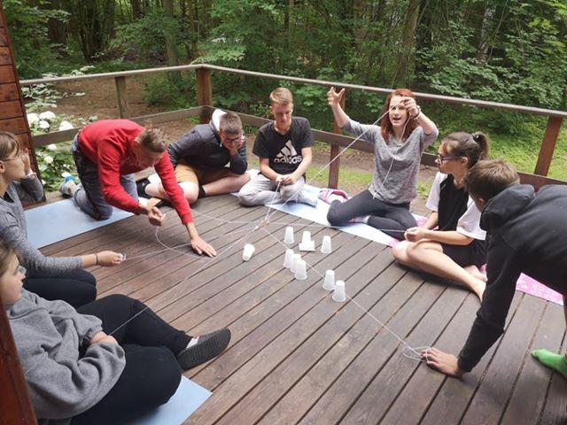 Bendravimo ir bendradarbiavimo įgūdžių gerinimo savaitgalio stovykla paaugliams Birštone
